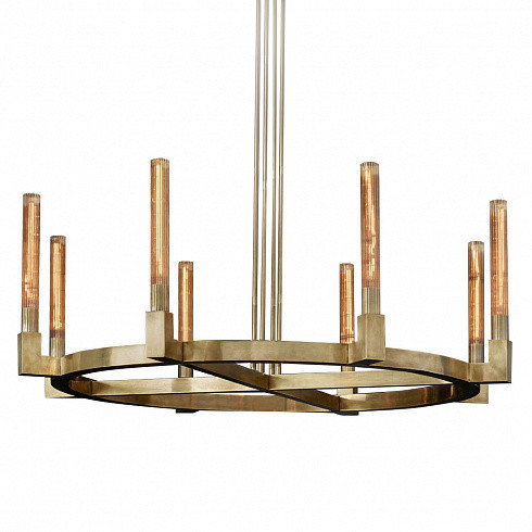 Люстра Delight Collection Cannele 8 brass -  фото 1