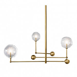 Люстра Delight Collection Globe Mobile 3 brass