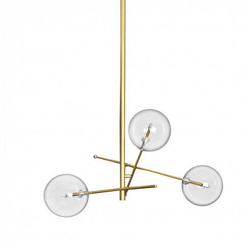 Люстра Delight Collection Globe Mobile 3A gold -  фото 1