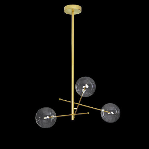 Люстра Delight Collection Globe Mobile 3A gold -  фото 2