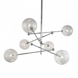 Люстра Delight Collection Globe Mobile 6 chrome