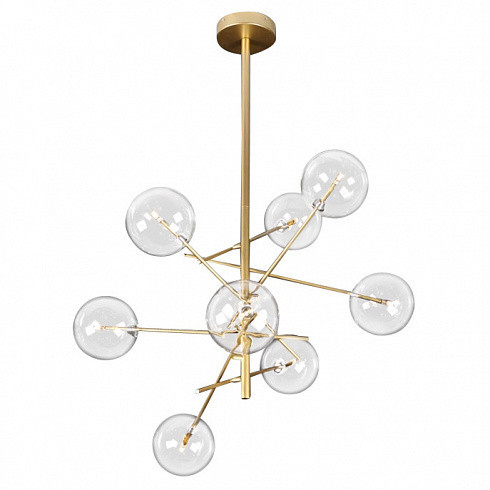 Люстра Delight Collection Globe Mobile 8A gold -  фото 1