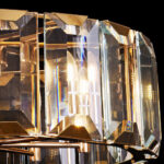 Люстра Delight Collection Harlow Crystal L8 gold -  фото 4