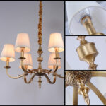 Люстра Delight Collection XD010-6 brass -  фото 2