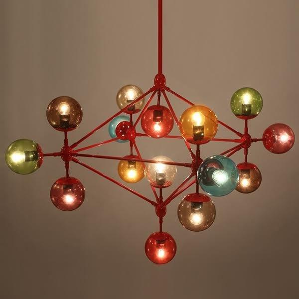 Люстра Modo Chandelier 21 Globes Color -  фото 1