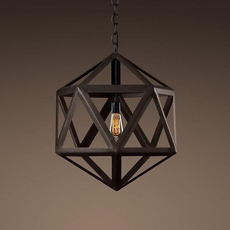 Люстра Steel polyhedron 5018–D1 -  фото 1