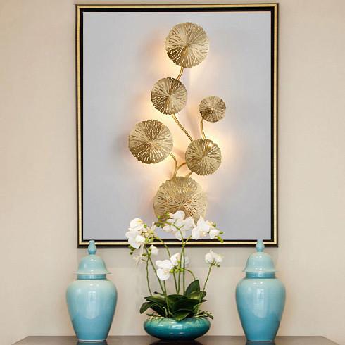 Настенный светильник Delight Collection 10260W6 brass -  фото 4
