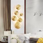 Настенный светильник Delight Collection 10260W6 brass -  фото 5