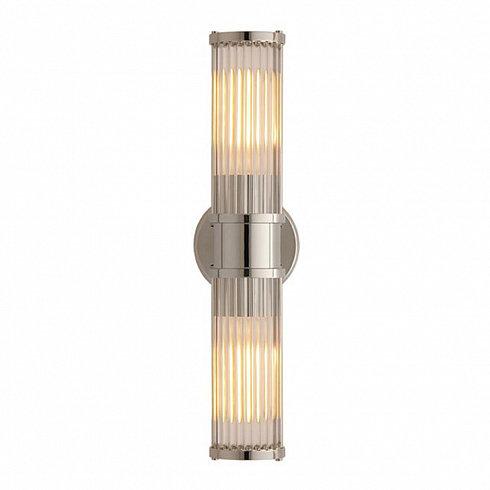 Настенный светильник Delight Collection Allen 2 nickel -  фото 1