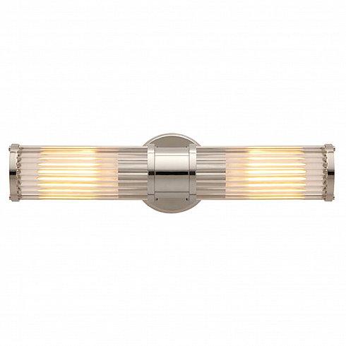 Настенный светильник Delight Collection Allen 2 nickel -  фото 2