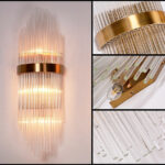 Настенный светильник Delight Collection BRWL7024 gold -  фото 2