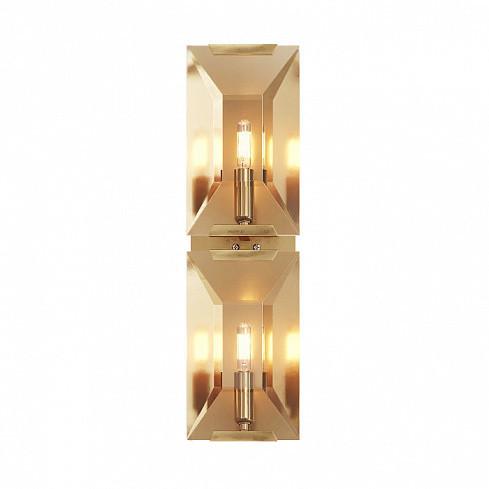 Настенный светильник Delight Collection Harlow Crystal A2 gold -  фото 1