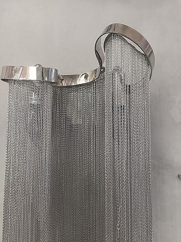 Настенный светильник Delight Collection Stream Aluminium 2 -  фото 6