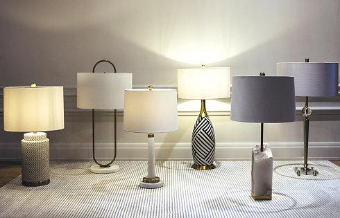 Настольная лампа Gramercy Home TL088-1-BRSH -  фото 2
