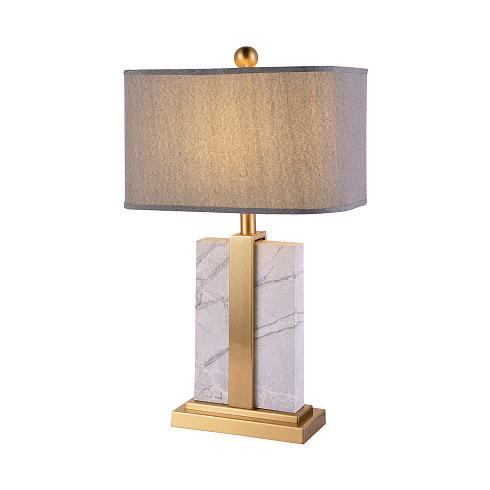 Настольная лампа Gramercy Home TL109-1-BRS -  фото 1