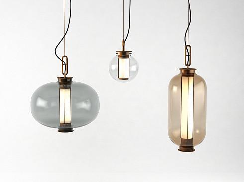 Подвесной светильник Delight Collection Bia C amber -  фото 3