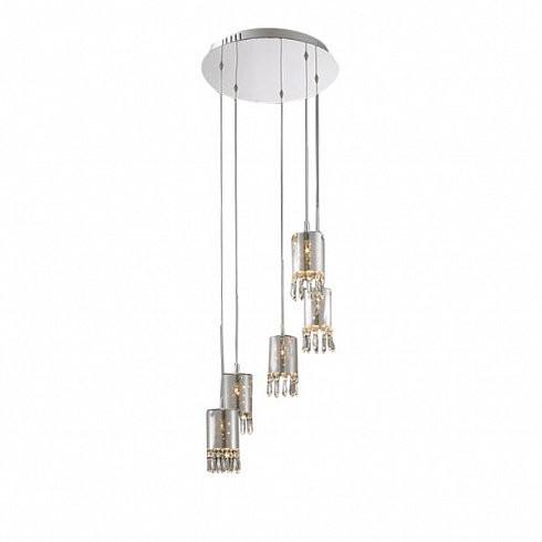 Подвесной светильник Delight Collection Crystal Tube 5 -  фото 1