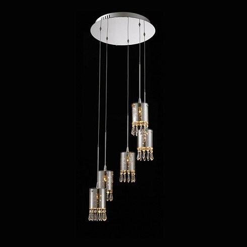 Подвесной светильник Delight Collection Crystal Tube 5 -  фото 2