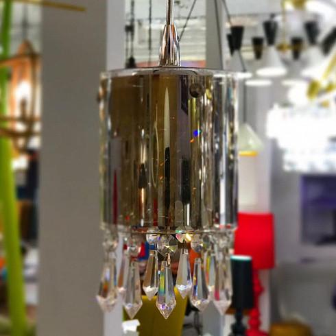 Подвесной светильник Delight Collection Crystal Tube 6 -  фото 3
