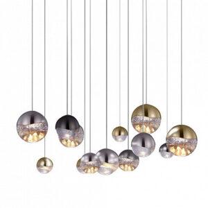 Подвесной светильник Delight Collection Globo 13A nickel