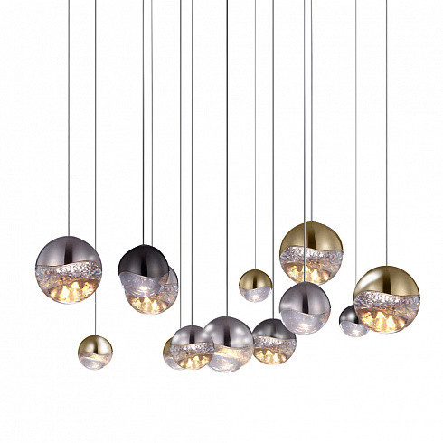 Подвесной светильник Delight Collection Globo 13A nickel -  фото 1