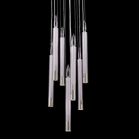 Подвесной светильник Delight Collection P68094-7 chrome -  фото 2