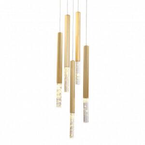 Подвесной светильник Delight Collection Vita 5A brass