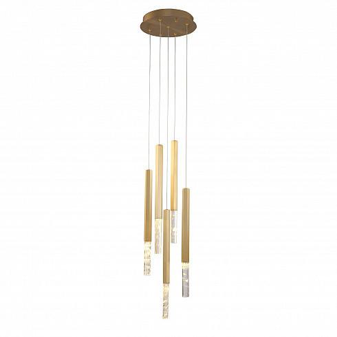 Подвесной светильник Delight Collection Vita 5A brass -  фото 2