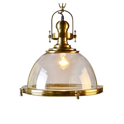 Подвесной светильник Gramercy Home CH100-1-BRS -  фото 1