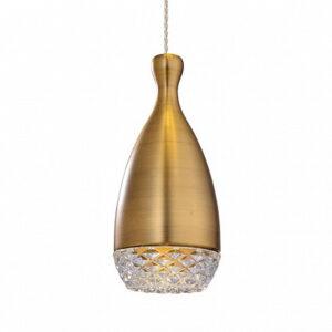 Подвесной светильник Gramercy Home CH127-1-BRS