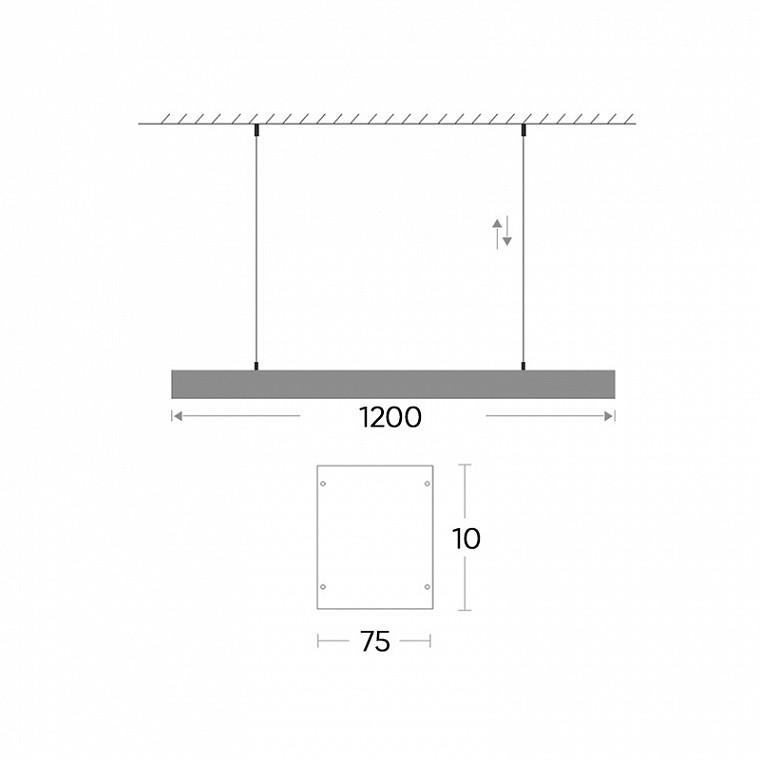 Подвесной светодиодный светильник  Balk M 9 -  фото 9