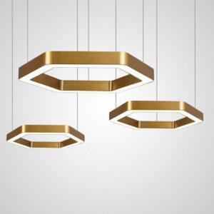 Подвесной светодиодный светильник Sotta Gold