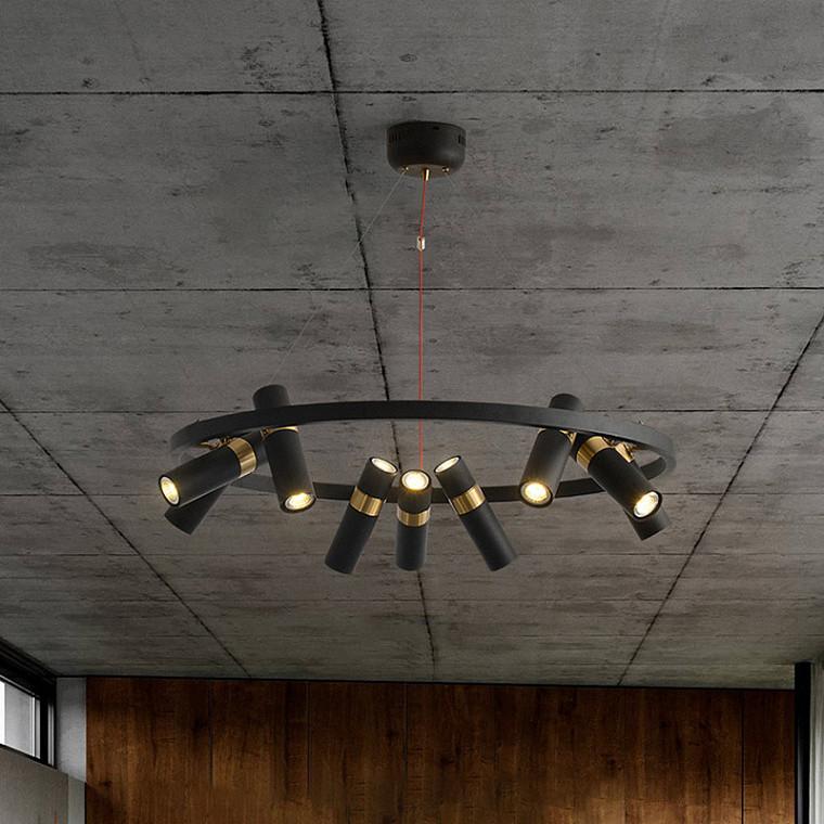 Подвесной светодиодный светильник Spoor 9 -  фото 2