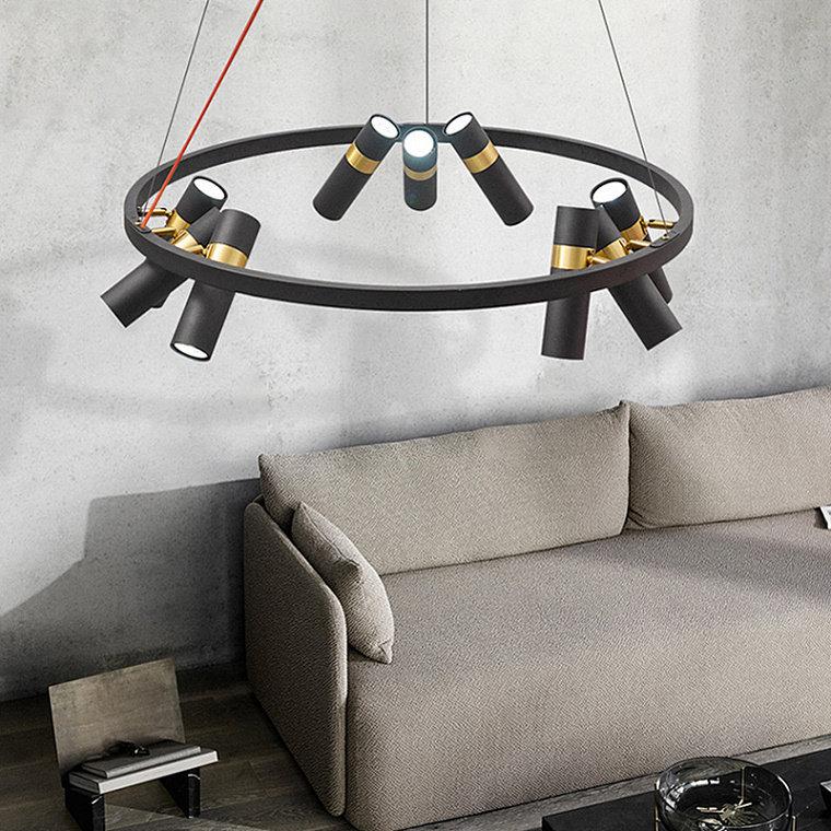 Подвесной светодиодный светильник Spoor 9 -  фото 12