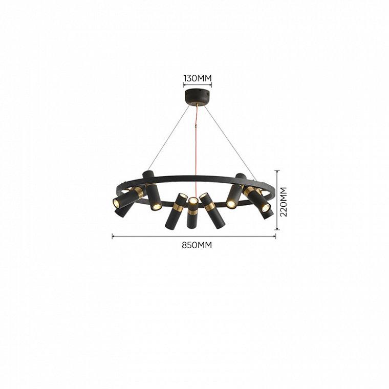 Подвесной светодиодный светильник Spoor 9 -  фото 16