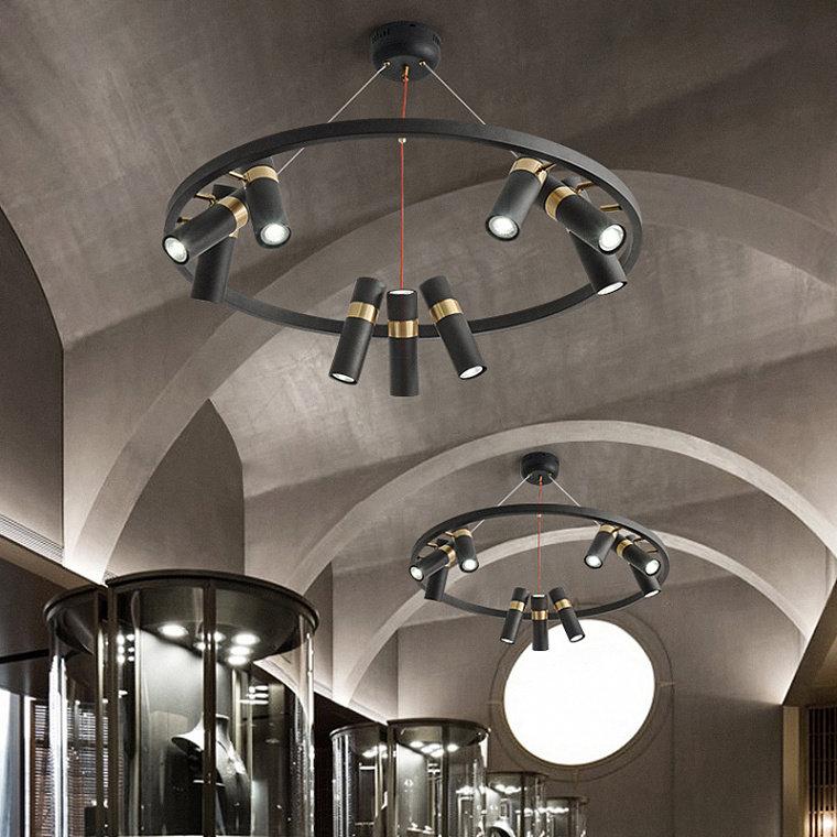 Подвесной светодиодный светильник Spoor 9 -  фото 3