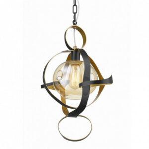 Подвесной светильник Delight Collection P68057S black/gold