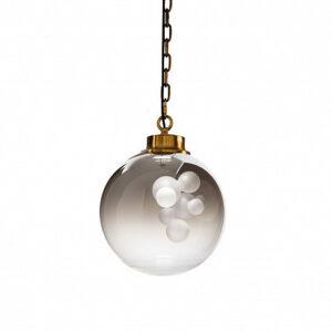 Подвесной светильник Delight Collection KG1148P brass/smoky