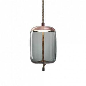 Подвесной светильник Delight Collection Knot B copper/blue