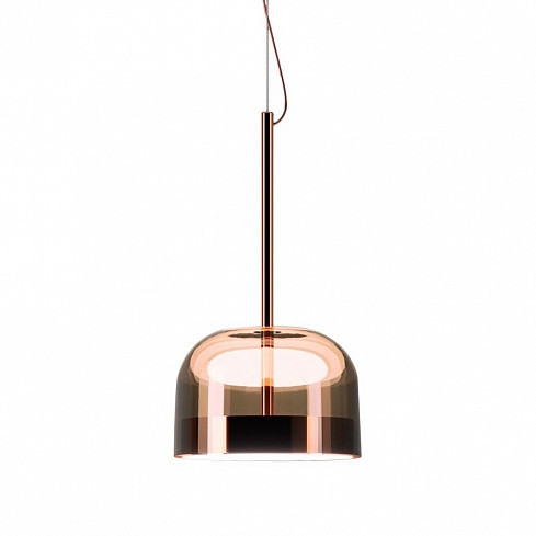 Подвесной светильник Delight Collection Equatore amber/copper - фото 1