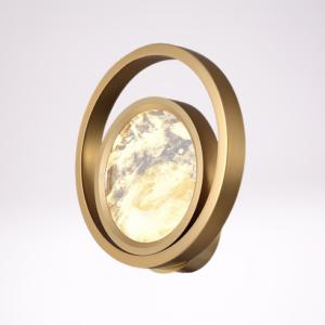 Настенный светильник Moon Light 3A ant.brass