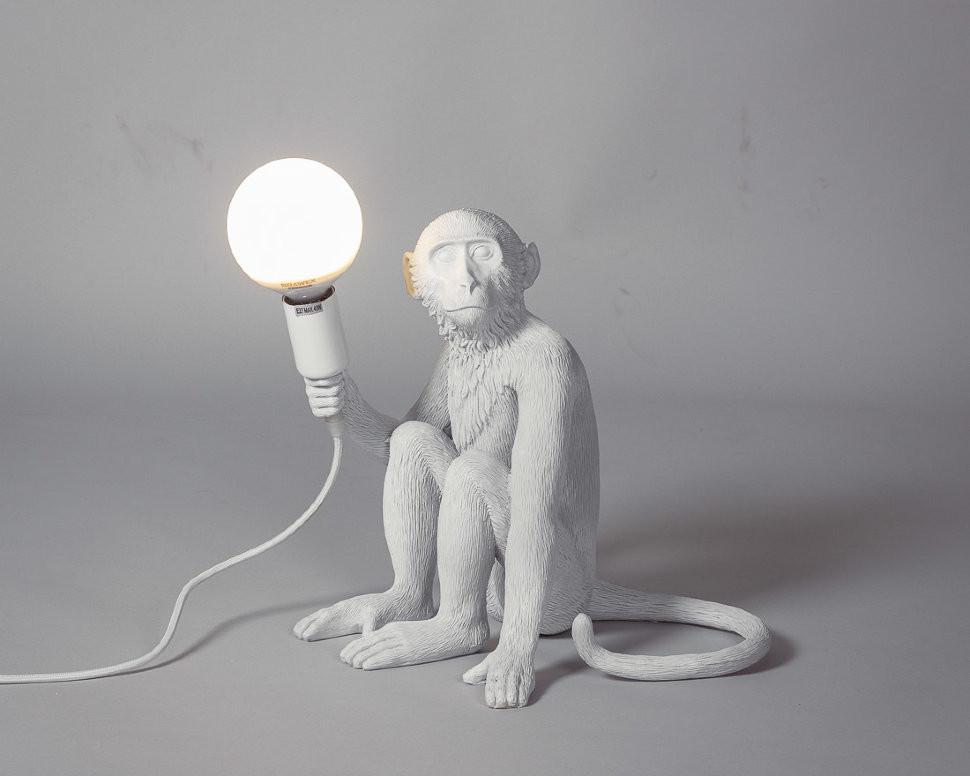 Лампа настольная The Monkey Lamp Sitting Version -  фото 1