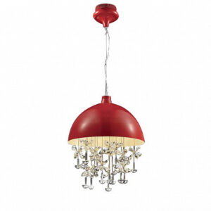 Люстра Delight Collection Crystal Light red