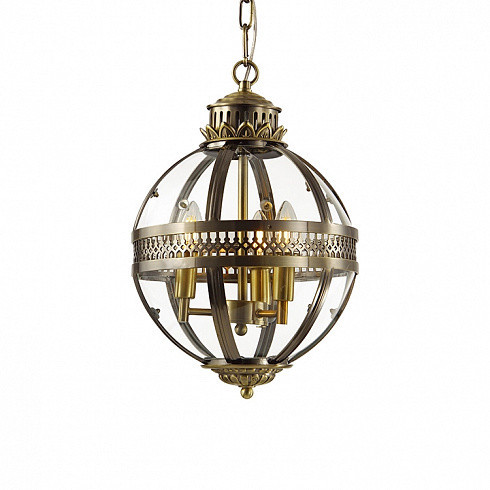 Люстра Delight Collection Residential 3 ant.brass -  фото 1