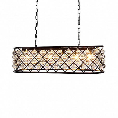 Люстра Delight Collection Spencer 5 black -  фото 1
