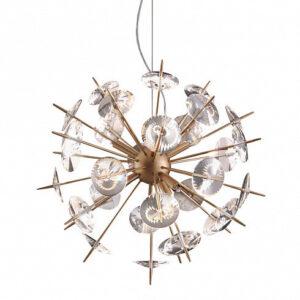Люстра Delight Collection Sputnik 6D gold