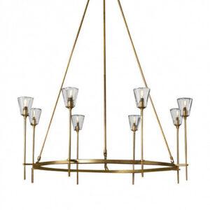 Люстра Delight Collection Torche De Verre 8 gold