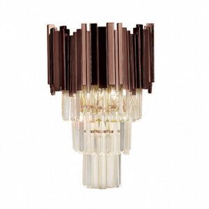 Настенный светильник Delight Collection Barclay A2 dark brown
