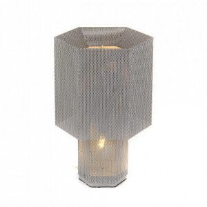 Настольная лампа Delight Collection KM0130P-1 silver