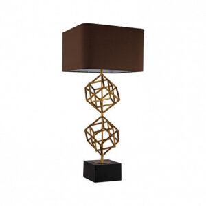 Настольная лампа Delight Collection Matrix 1 brass